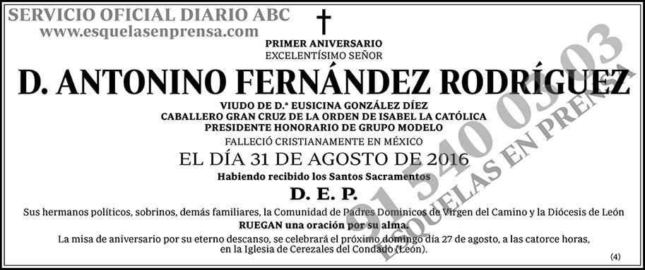 Antonino Fernández Rodríguez